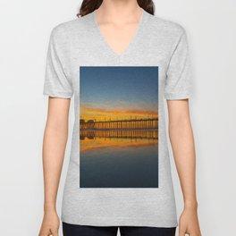 Sunset Reflections Unisex V-Neck