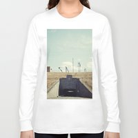 dwight schrute Long Sleeve T-shirts featuring the dwight d eisenhower lock by Amanda Stockwell