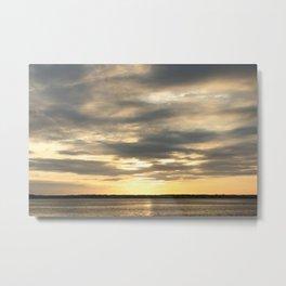 Seaside Sunset 01 Metal Print