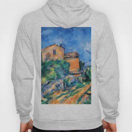 """Paul Cezanne """"Maison Maria with a View of Chateau Noir"""" Hoody"""
