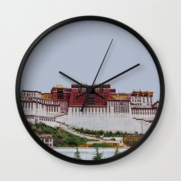 Potala Palace, Tibet Travel Artwork Wall Clock