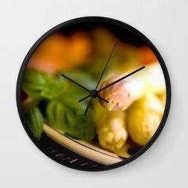 Asparagus season starts Wall Clock
