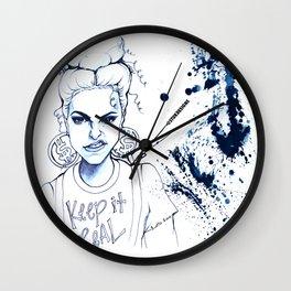 #STUKGIRL KYE (Keep it Real) Wall Clock
