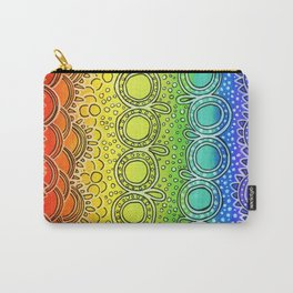 Rainbow Doodle Carry-All Pouch