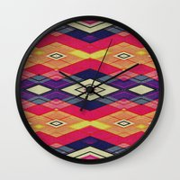 native Wall Clocks featuring native by spinL