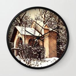 Concept Baden-Wurttemberg :Ölbergkapelle Laupheim Wall Clock