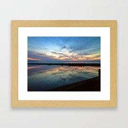 Marthas Vineyard Sunrise Framed Art Print