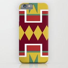 Native pattern iPhone Case