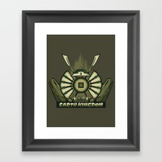 Avatar Nations Series - Earth Kingdom Framed Art Print