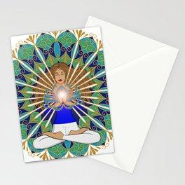 Divine Spark Mandala Stationery Cards