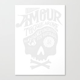 Amour Canvas Print