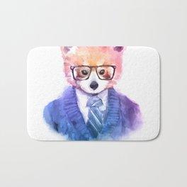 Cute fashion hipster animals pets red panda Bath Mat