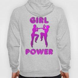 Girl Power Martial Arts Sparring Females Hoody