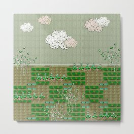 First greens Metal Print