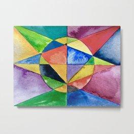 The Balance of All Things (2015) Original Painting Metal Print