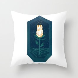 Open After Hours Throw Pillow