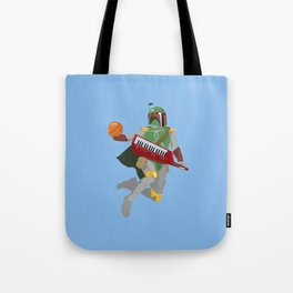 Nothing But Fett Tote Bag