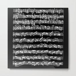 Bach Chaconne Solo Partita Violin Metal Print