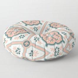 Peachy Keen Floor Pillow