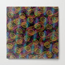"""""""Diatoms army #3"""" Metal Print"""