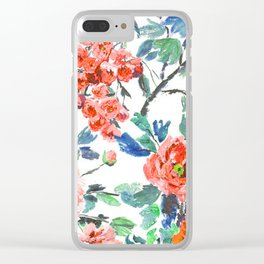 FLORAL - 18118/1 Clear iPhone Case
