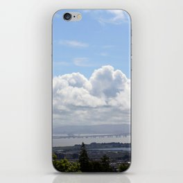 Looking Across the Bay iPhone Skin