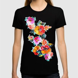 Hand-Painted Watercolor T-shirt