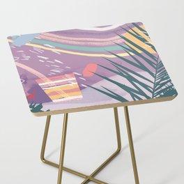 Summer Pastels Side Table