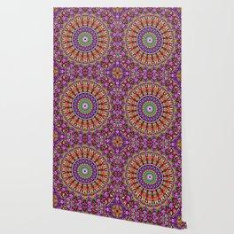 Petal Burst Mandala Wallpaper