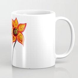 Just One Abstract Flower Coffee Mug