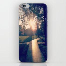 white way of light. iPhone Skin