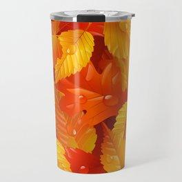 Autumn leaves #2 Travel Mug