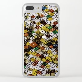 Dice Clear iPhone Case