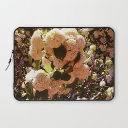 Yellow-Pink Sowballs Laptop Sleeve