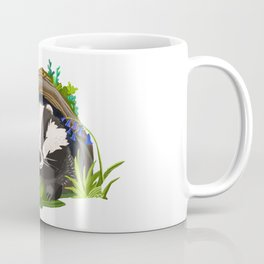 Badger and Bluebells Coffee Mug
