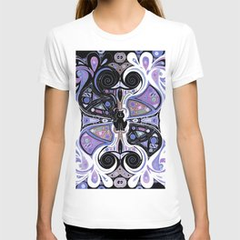 Symmetrical Cat (180i) T-shirt