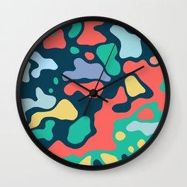 Camo 31 Wall Clock