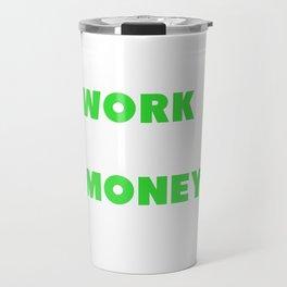Capitalist Conservative Anti-Socialist Investor Travel Mug