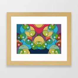 Abstrakt 3 Framed Art Print