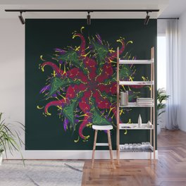 Vision of Teeth Wall Mural