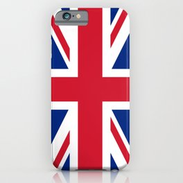 UK Flag Union Jack iPhone Case