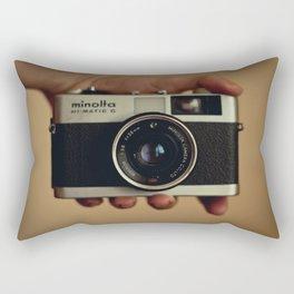 minolta  hi-matic g Rectangular Pillow