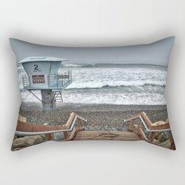 Lifeguard Tower 2, Torrey Pines, La Jolla, California Rectangular Pillow