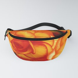 Red-Edged Yellow Begonias Fanny Pack