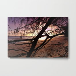 Early morning beach walks are filled with treasures Metal Print