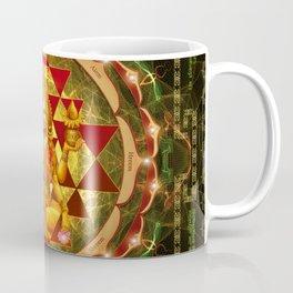 Shri Yantra- Maha Lakshmi Ashtakam- Abundance Coffee Mug