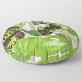 Urban jungle Floor Pillow