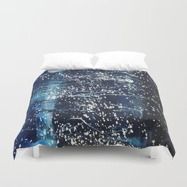 Powdered Stars Duvet Cover