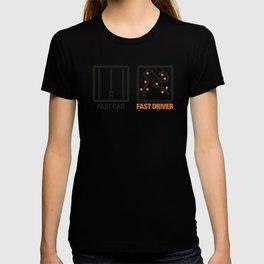 Fast Car - Fast Driver v1 HQvector T-shirt