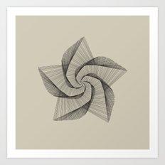 Dark Star Lines Art Print